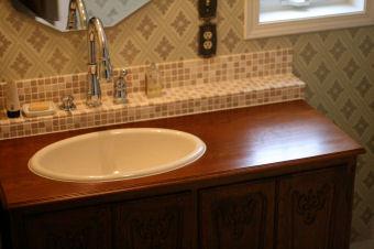 洗面所のトップ