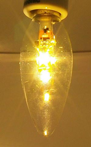 LEDのシャンデリア電球